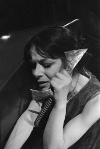 Catherine Sellers dans la Voix humaine