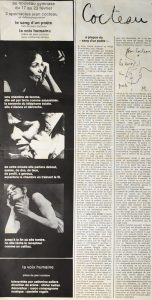 Article de presse, la Voix humaine 1970