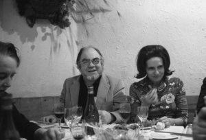 Hélène Cadou et Eugène Guillevic