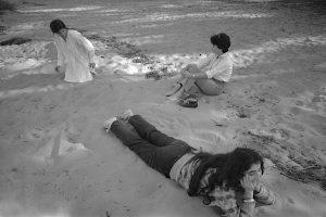 Sur le sable à Arcachon