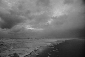L'océan Atlantique près d'Arcachon